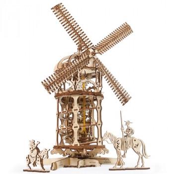 Конструктор 3D-пазл Ugears - Мельница-Башня сборная модель