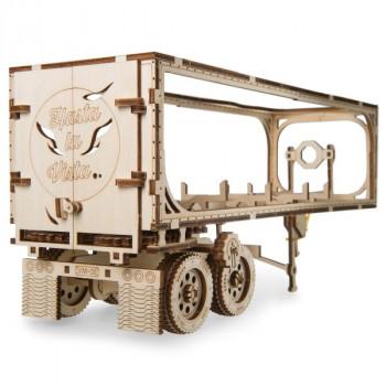 Конструктор 3D-пазл Ugears - Полуприцеп к модели Тягач VM-03