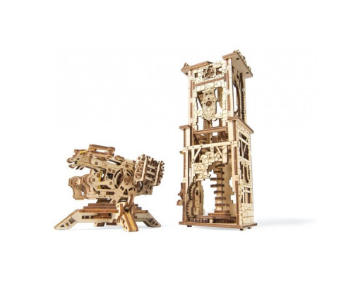 Конструктор 3D-пазл Ugears - Башня-аркбаллиста