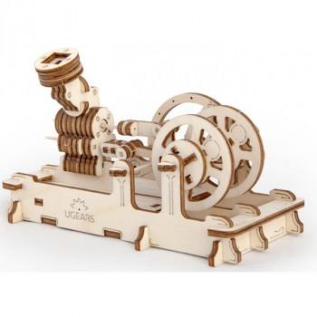 Конструктор 3D-пазл Ugears - Пневматический двигатель