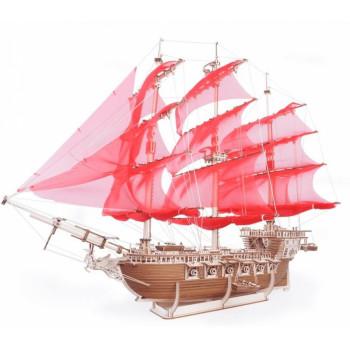 Сборная модель из дерева Lemmo Корабль Пегас