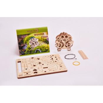 3D-пазл из дерева Wood Trick Вудик Лягушка сборная модель