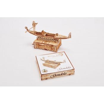 Механический 3D-пазл из дерева Wood Trick Шкатулка Гондола