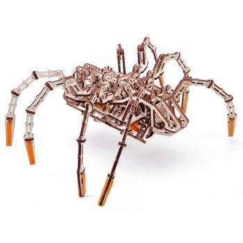 Механическая сборная модель Wood Trick Космический Паук