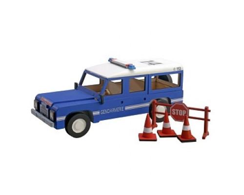 Сборная деревянная модель автомобиля Artesania Latina Land Rover Police Patrol