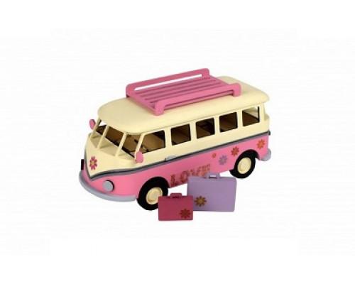 Сборная деревянная модель автомобиля Artesania Latina Holidays Van