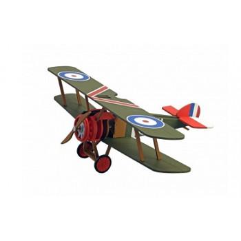 Собранная деревянная модель самолета Artesania Latina Sopwith Camel Build
