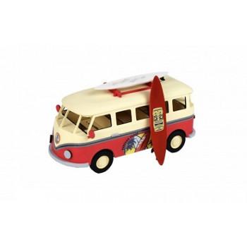 Собранная деревянная модель автомобиля Artesania Latina Surfer's Van Build