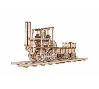 Конструктор деревянный 3D EWA Локомотив