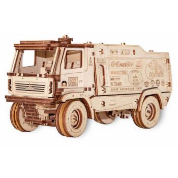 Конструктор деревянный 3D EWA МАЗ-5309RR 1:30