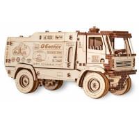 Конструктор деревянный 3D EWA МАЗ-5309RR 1:20