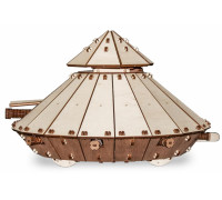 Конструктор деревянный 3D EWA Танк Да Винчи