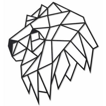 Деревянный интерьерный пазл EWA Голова льва