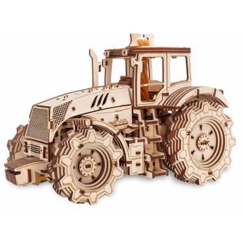 Конструктор деревянный 3D EWA Трактор