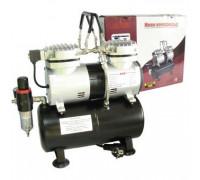 Компрессор 1206, с регулятором давления, автоматика, два режима работы, ресивер, два цилиндра
