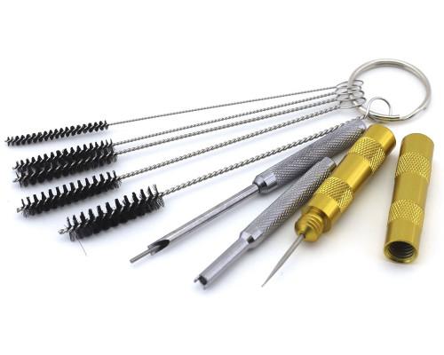 1636 Набор инструмента для разборки и чистки аэрографа, 4 предметов
