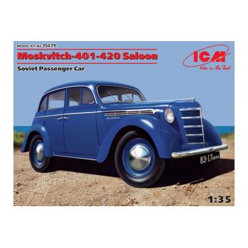 Советский легковой автомобиль Москвич-401-420 сборная модель