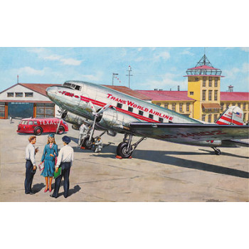 Rod309 Самолёт Douglas DC-3