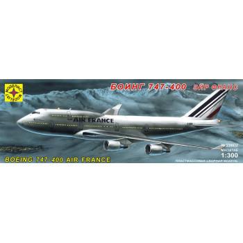 """Самолет Боинг 747-400 """"Эйр Франс"""" (1:300)"""