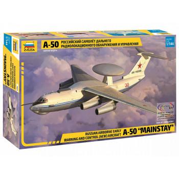 zv7024 Российский самолет дальнего радиолокационного обнаружения и управления А-50