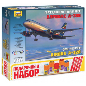"""zv7003П Пасс. авиалайнер """"Аэробус А-320"""""""