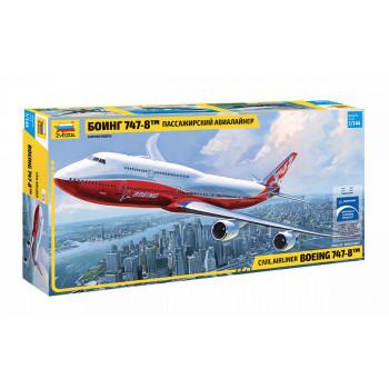 "zv7010 Пасс. авиалайнер ""Боинг 747-8"""