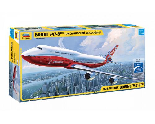"Пасс. авиалайнер ""Боинг 747-8"""