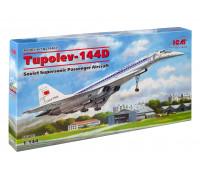 14402 ICM Ту-144Д, Советский сверхзвуковой пассажирский самолет, 1/144