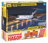 """Пасс. авиалайнер """"Ту-154"""""""