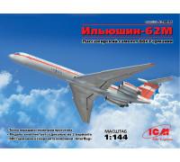 14406 ICM Ильюшин-62М, Пассажирский самолет ВВС Германии, 1/144