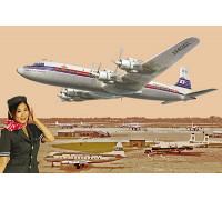 Самолёт DC-7C Japan Air Lines