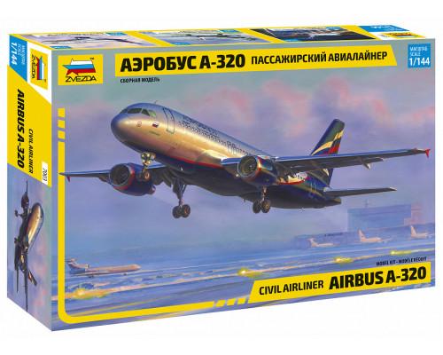 """Пасс. авиалайнер """"Аэробус А-320"""""""