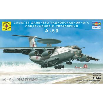 Самолет дальнего радиолокационного обнаружения и управления А-50 (1:144)