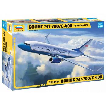 "zv7027 Авиалайнер ""Боинг 737-700/С40В"""