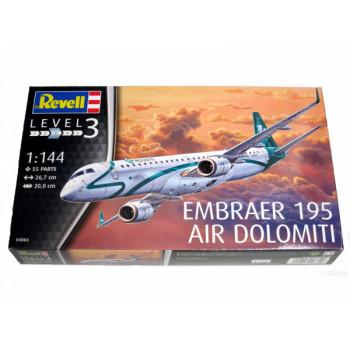 Пассажирский самолет Embraer 195 авиакомпании AIR DOLOMITI