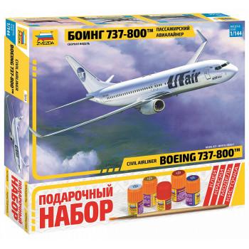 "zv7019П Пасс. авиалайнер ""Боинг 737-800"""