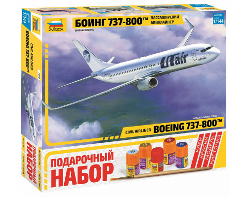 "Пасс. авиалайнер ""Боинг 737-800"""