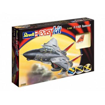 Сборка самолет F-14 Tomcat (1/100)