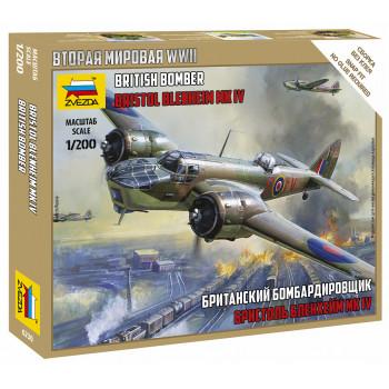 "zv6230 Британский бомбардировщик ""Бристол Блэнхейм"""