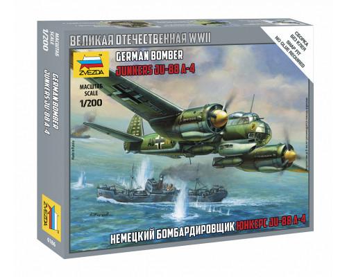 Немецкий бомбардировщик Ju-88 A4