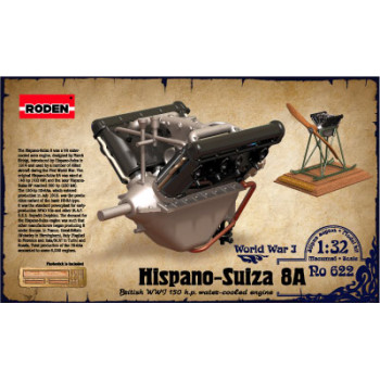 Двигатель Hispano Suiza 8A 150 h.p