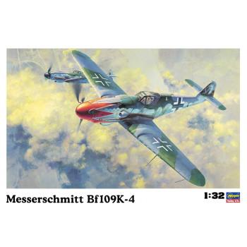 H08070 Hasegawa Немецкий истребитель Messershmitt Bf109K-4 (1:32)