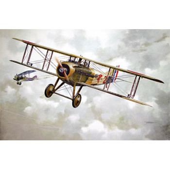 Rod604 Самолёт Spad VII c.1 French