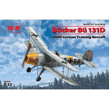 Bücker Bü 131D, Германский учебный самолет ІІ МВ