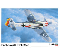 H08073 Hasegawa Немецкий истребитель Fockewulf FW-190A-5 (1:32)