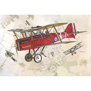 Самолёт RAF S.E.5A W/WOLSELEY VIPER сборная модель