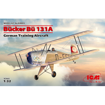 Bücker Bü 131A, Германский учебный самолет сборная модель