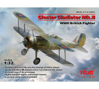 Gloster Gladiator Mk.II, Британский истребитель II МВ