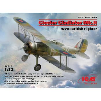 Gloster Gladiator Mk.II, Британский истребитель II МВ сборная модель