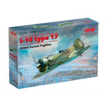 32005 ICM И-16 тип 17, Советский истребитель ІІ МВ, 1/32